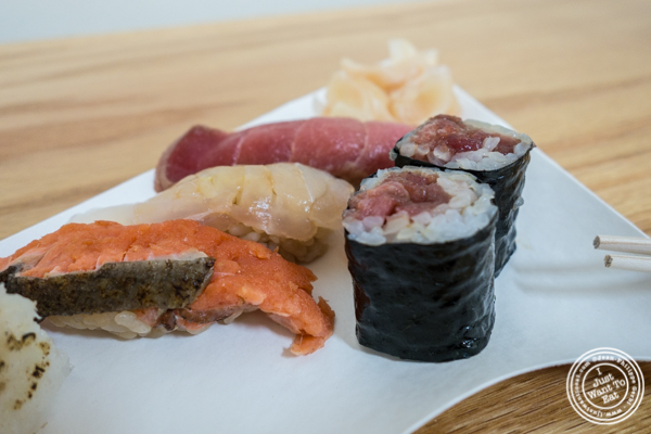 Sushi made with ECO-RICE brand