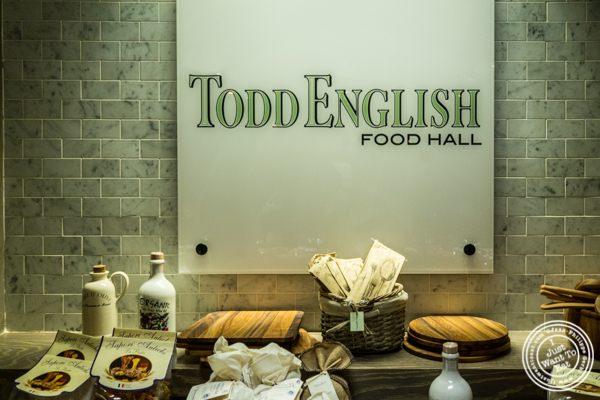 Todd English Food Hall at the Plaza in NYC, New York