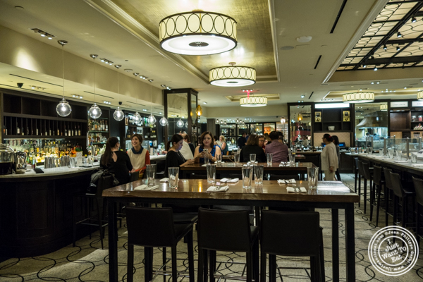 Dining room at Todd English Food Hall at the Plaza in NYC, New York