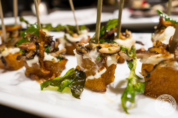 Roast squash agrodolce at Todd English Food Hall at the Plaza Hotel, NYC, New York