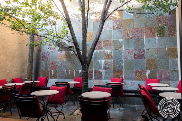 Patio at Kurry Qulture in Astoria, Queens
