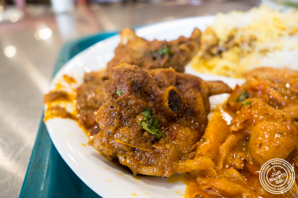 Chicken jalfrezi at Haandi in Curry Hill, NYC, New York