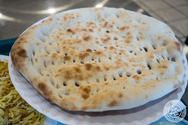 Naan at Haandi in Curry Hill, NYC, New York