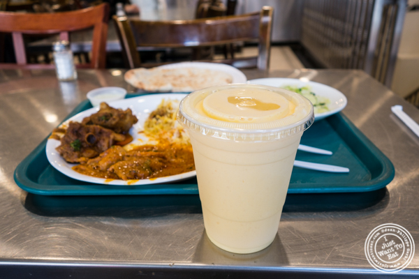 Mango lassi at Haandi in Curry Hill, NYC, New York