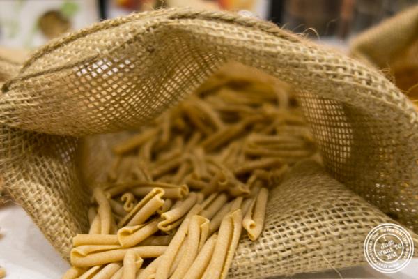Chickpea caserecce from Pasta Lensi