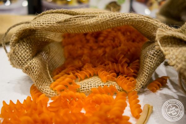 Red lentils fusilli from Pasta Lensi