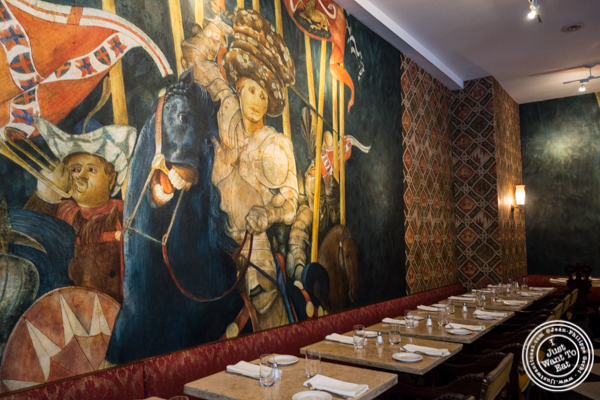 Dining room at Machiavelli, Upper West Side, NYC