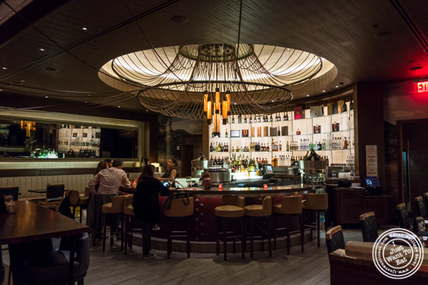 Bar on the 2nd floor at Fogo de Chao in NYC, New York