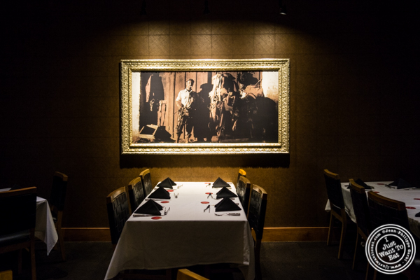 Dining room at Fogo de Chao in NYC, New York