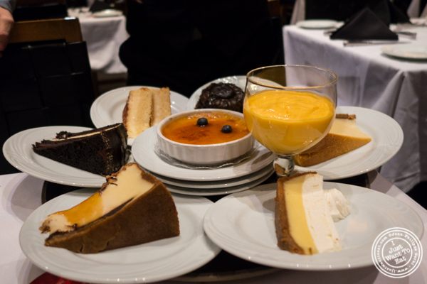 Desserts at Fogo de Chao in NYC, New York
