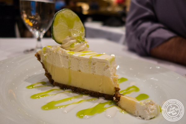 Lemon tart at Fogo de Chao in NYC, New York