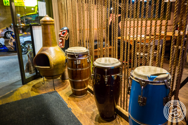 Bongo drums at Beija Flor, Long Island City