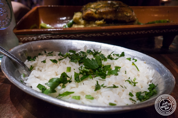 Rice at Beija Flor, Long Island City