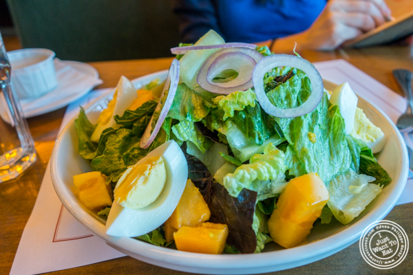 Market green salad at Jack Austin's in Weehawken, NJ