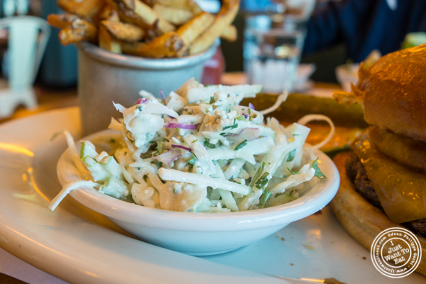 Cole slaw at Jack Austin's in Weehawken, NJ