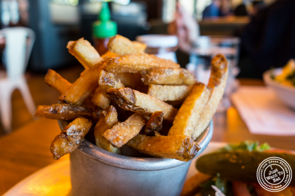 Fries at Jack Austin's in Weehawken, NJ