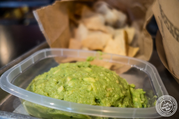 Guacamole at Otto's Tacos in Hell's Kitchen