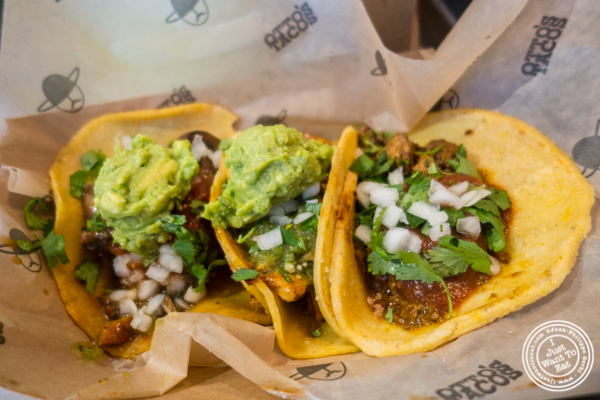 Tacos at Otto's Tacos in Hell's Kitchen