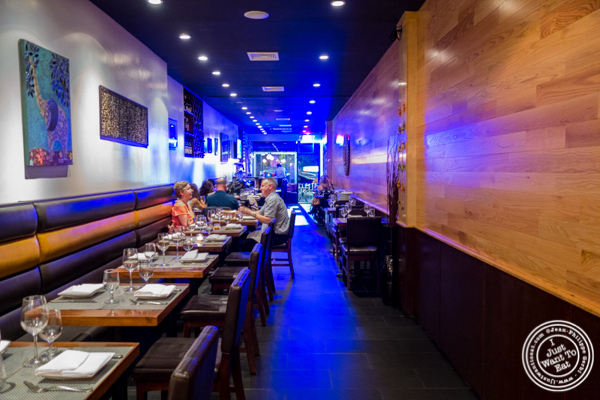 Dining room at Lala Sahab in NYC, New York