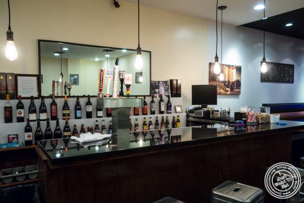 Bar at Lala Sahab in NYC, New York