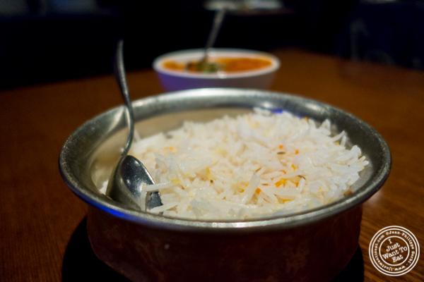 Rice at Lala Sahab in NYC, New York