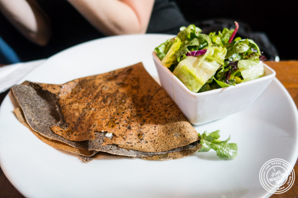 Pear and goat cheese crepe at Cafe Triskell in Long Island City