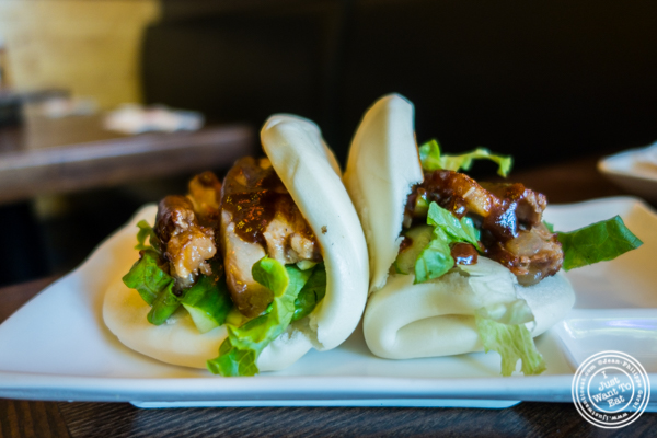 Pork buns at Cho-Ko Ramen in the Lower East Side, NYC