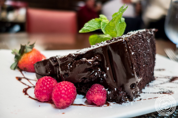 Big Fat Chocolate Cake at The Old Homestead Steakhouse in NYC, NY