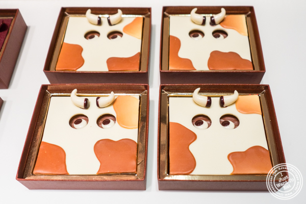 Miss Cow 2017 Easter Collection at La Maison du Chocolat, Upper East Side, NYC, New York