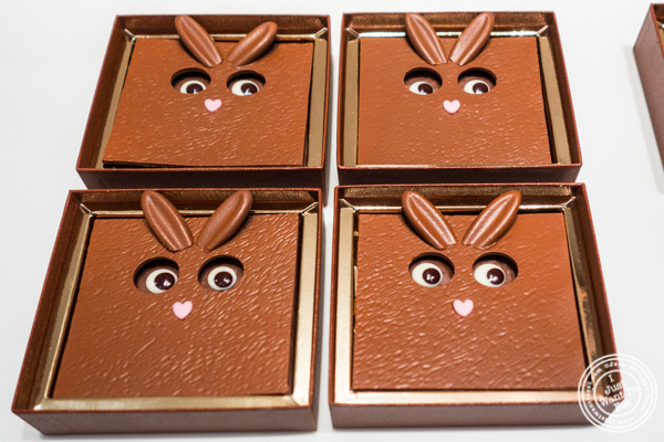 Monsieur Bunny 2017 Easter Collection at La Maison du Chocolat, Upper East Side, NYC, New York