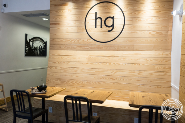 Dining room at Honeygrow in Hoboken, NJ