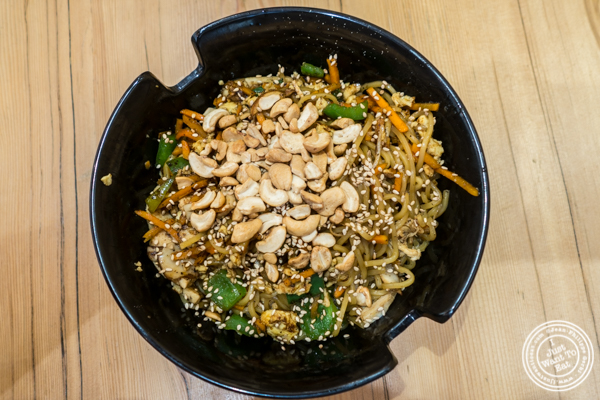 Stir-fry at Honeygrow in Hoboken, NJ