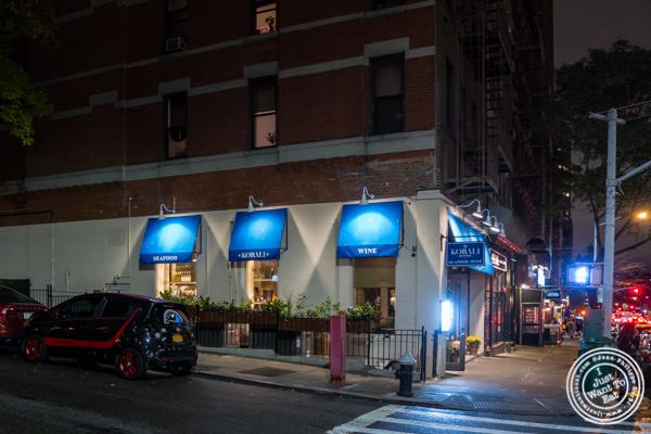 Korali Estiatorio on the Upper East Side, NYC, NY