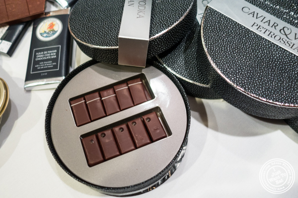 Vodka and caviar chocolate, a Petrossian and La Maison du Chocolat collaboration