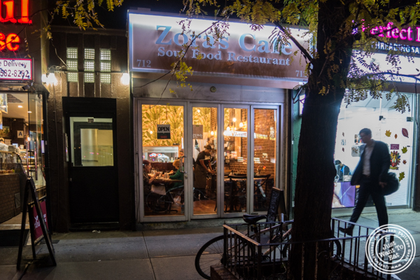 Zora's Cafe in Hell's Kitchen, NYC