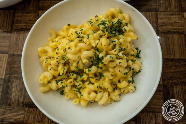Linda's Mac and Cheese at Zora's Cafe in Hell's Kitchen, NYC