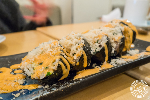 Bibimbap maki roll at Danji in NYC, NY