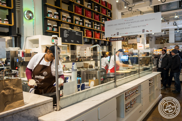 Eataly Nutella Bar in NYC, NY