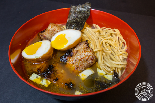 Miso ramen with pork belly