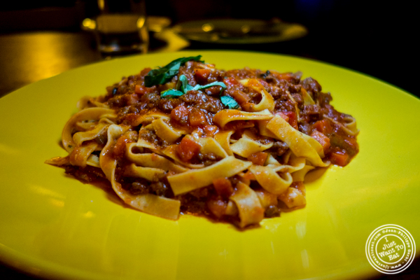 Wise Guys Bolognese at Bettola on the Upper West Side, NYC, NY