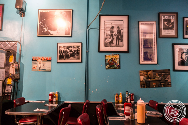 Dining room at Bonnie's Grill in Park Slope, Brooklyn