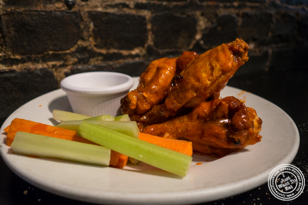 Chicken wings at Bonnie's Grill in Park Slope, Brooklyn