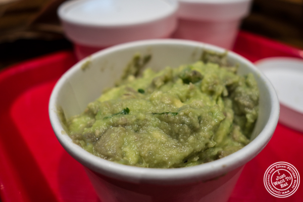 Guacamole at Tres Carnes in NYC, NY