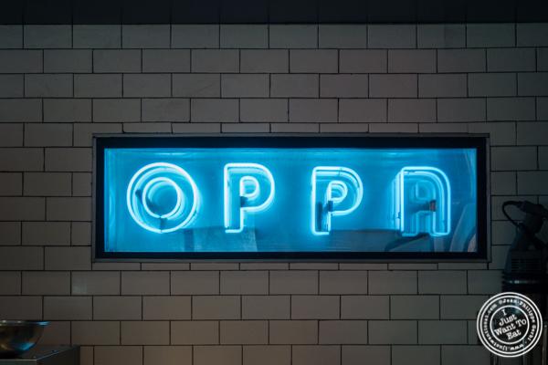 OPPA in the Gansevoort Market, NYC