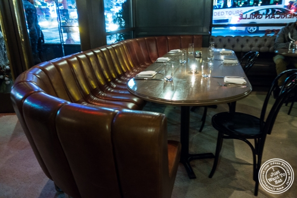 Dining room at The Wayfarer in NYC, NY