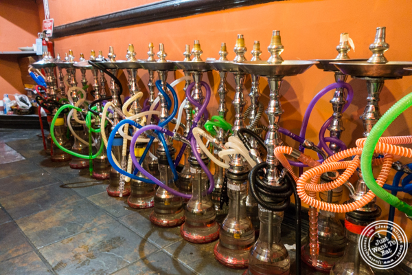 Hookah at Cafe Istanbul in Astoria, Queens