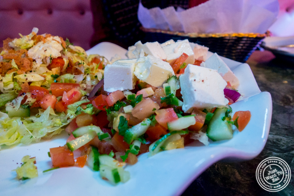 Turkish feta salad at Cafe Istanbul in Astoria, Queens