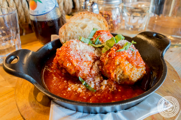 Meatballs at Numero 28 Pizzeria, NYC, New York
