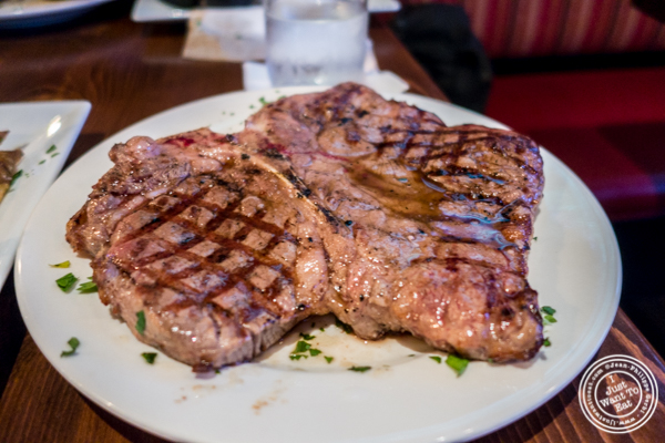 Re-fired porterhouse at The Shepherd and The Knucklehead in Hoboken, NJ