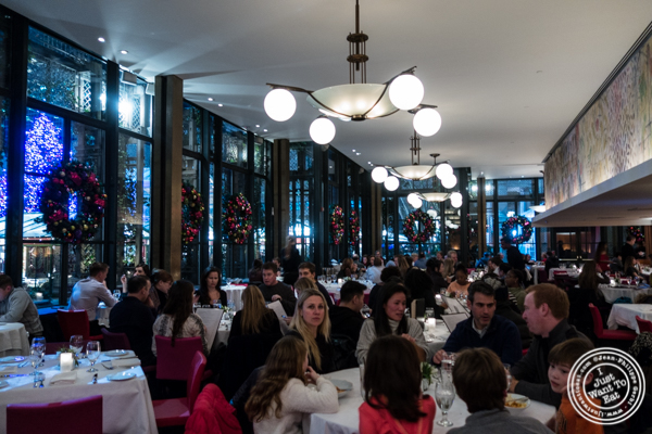 Dining room at Bryant Park Grill in NYC, NY